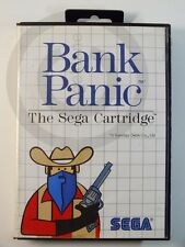 Sega Master Game Bank Panic Sealed, USED BUT GOOD