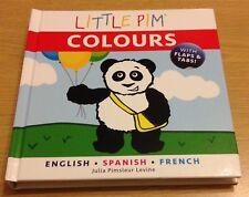 Little Pim couleurs Julia Pimsleur Levine Livre (Cartonnée) NEUF