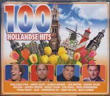 100 Hollandse Hits 4 CD Box incl Tino Martin, Samantha Steenwijk, Snollebollekes