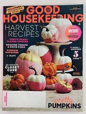 Good Housekeeping Magazine October 2016 Halloween Decorating Harvest Recipes