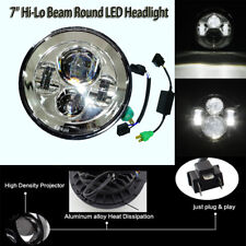 "7"" Inch LED Headlight Fit Yamaha Road Star XV 1700 Midnight Silverado 2004-2007"