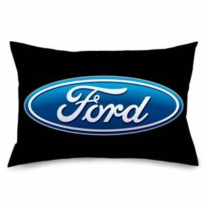 Pillowcase - Ford Oval Logo - Standard Size - We Ship WORLDWIDE & Free To USA!