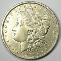 1901 Morgan Silver Dollar $1 (1901-P) - AU Details - Rare Date!