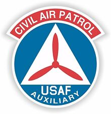 Civil Air Patrol Sticker AF Auxiliary Locker Hard Hat Laptop Tablet Fridge Book