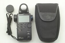 【EXC +5 w/ Case】 SEKONIC L-508 ZOOM MASTER Digital Light Meter From Japan # 444