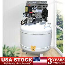 Dental Air Compressor Silent Noiseless Oil Free Oilless Compressor Machine 40l