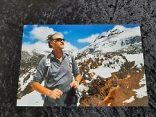 More details for sir ranulph fiennes 8 x 12 signed photograph adventurer / explorer coa aftal