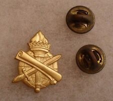 """1950/1960'S US ARMY OFFICER BRASS PIN CIVIL AFFAIRS EM SOLID BACK """"G-22"""" HM"""