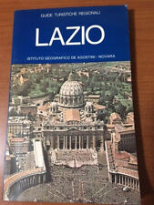 GUIDE TURISTICHE REGIONALI LAZIO 1977 IST.GEOGRAFICO DE AGOSTINI NOVARA