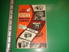 JD691 Vintage 1952 Tydings' Guide to Kodak Miniature Cameras