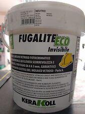 FUGALITE ECO KERAKOLL INVISIBILE KG.3 STUCCO/ADESIVO CERAMIZZATO IMPERMEABILE