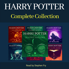 Harry Potter Complete Audiobook Collection Unabridged (MP3) By Stephen Fry