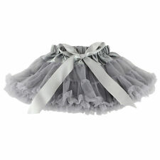 Baby Girl Kids Chiffon Fluffy Pettiskirt Tutu Dancewear Party Christmas skirt
