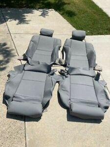 BMW 330i 325i 323i 328i E46 UPHOLSTERY FRONT SEAT KIT SET LEATHER  99-05 NEW