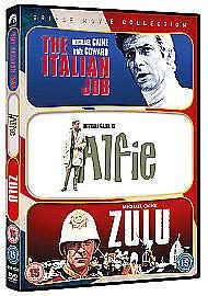 Italian Job / Zulu / Alfie (DVD, 2011)