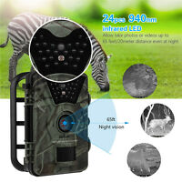 Waterproof 2ps CT008 Hunting Trail Camera Home Farm Security Cam Night Vision AU