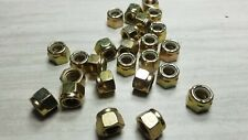 25 Stop Nuts Steel with Nylon Insert 3/8 -16