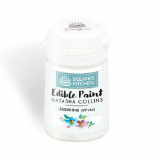 Jasmine White Edible Paint Cake Decorating Natasha Collins- Squires Kitchen 20g
