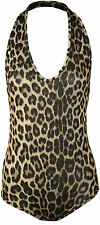 Polyester Animal Print Party Stretch Tops & Shirts for Women