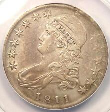1811/0 Capped Bust Half Dollar 50C O-102 - ANACS AU50 Details - Rare Overdate