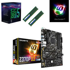 Bundle Intel Core i5 8400 6x@4,00GHz+Gigabyte Z370P D3 USB3.1-8GB RAM