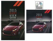 2015 Dodge Dart User Guide plus Owners Manual DVD Operator Book