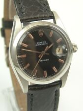 Rolex OysterDate Precision Glossy Copper Dial Ref: 6694 aus 1976 - Top Vintage-