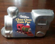 Vintage Wilton 3D Choo Choo Train Cake Pan And Instructions Book