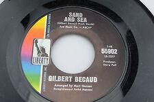 Gilbert Becaud: Sand and Sea / Gracias a Dios  [Unplayed Copy]