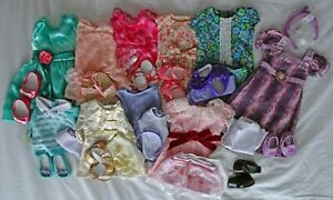 """American Girl 18"""" Doll Clothes Lot: 10 outfits"""