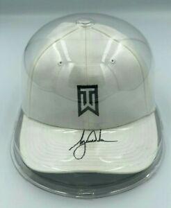 TIGER WOODS Signed Nike TW Tour Golf Hat Cap JSA FULL LETTER COA