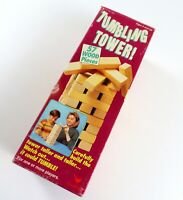 Vintage Tumbling Tower Wood Block Game by Cardinal, Ages 5 and Up