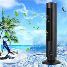 Portable Tower Room USB Cooling Air Purifier Mini Bladeless Desk Fan Humidifier
