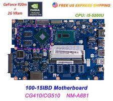 Lenovo 100-15IBD CG410/CG510 NM-A681 i5-5200U Nvidia Geforce 920MX Motherboard A