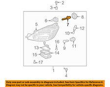 TOYOTA OEM-Headlight Headlamp Bulb 9098120002