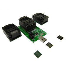 eMMC eMCP test socket 3 in1 USB adapter for BGA153/169/162/186/221 data recovery