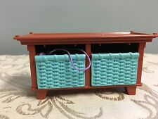 Fisher Price LOVING FAMILY Dollhouse Baby Dresser Storage Toy Box