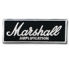 Marshall Amp Amplifiers Patch Iron on Music Sticker Amplification Badge JMC Sew