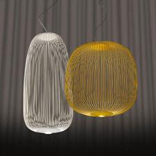 Modern Foscarini Spokes 1/ 2 Pendant Lamp Metal Chandelier Ceiling lamp Fixture