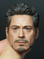 In-stock 1/6 NR07 NRtoys MK5 2.0 Tony Stark Iron Man Head For Hot Toy Phicen