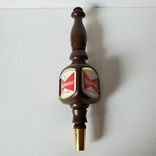 New listing Vintage Wood Tap Handle Budweiser King of Beers