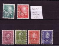 BRD gestempelt  111/12 , 117/20     Michel 215.-    K 15347
