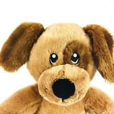 "Build A Bear Brown Tan Puppy Floppy Ear Patch Dog Babw Euc 16"" Toy"