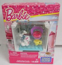 Mega Bloks - Barbie - Coffee Shop Poodle NEW CNH90