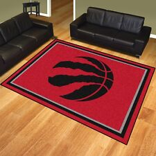 Toronto Raptors 8 X 10 Decorative Ultra Plush Carpet Area Rug