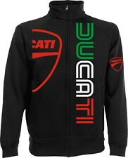 Sweatshirt Jacket Ducati Logo m1 Motorcyclists Rider Hypermotard Monster