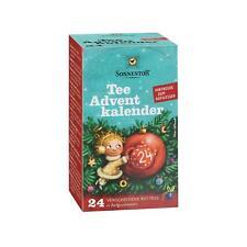 (100g=€23,87) Sonnentor Tee-Advent Kalender Adventskalender Geschenk Bio Vegan