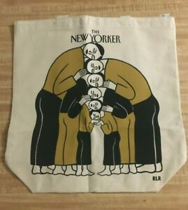 The New Yorker Magazine Canvas Tote Bag Limited Edition 2021