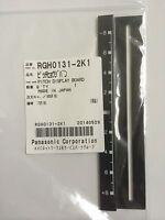 Org. Technics 1210 MK2 Pitch Blende Anzeige Schwarz BLK DISPLAY TRIM RGH0131-2K1