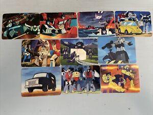 Vintage G1 Transformers Cards Series 1